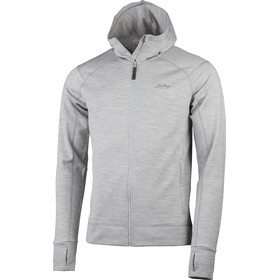 Lundhags Ullto Merino Hoodie Men light grey